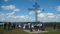 Поклонный крест в с. Новоключи