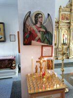 Панихида в  Кафедральном соборе г. Карасука