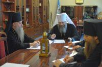 Состоялось заседание Архиерейского совета Новосибирской митрополии в онлайн-режиме